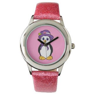 Penguin in a Bonnet Wristwatch