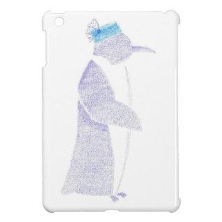 Penguin In A Fancy Hat iPad Mini Cases