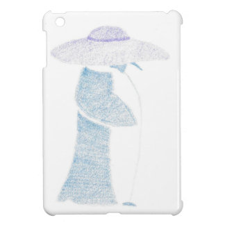 Penguin In A Floppy Hat Cover For The iPad Mini