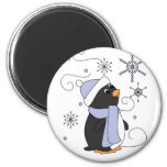 Penguin in Awe Magnet