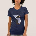 Penguin in Awe Tee Shirts