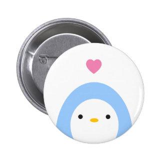 Penguin In Love Button