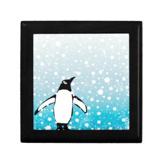 Penguin In The Snow Gift Box