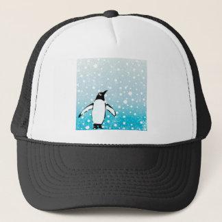 Penguin In The Snow Trucker Hat