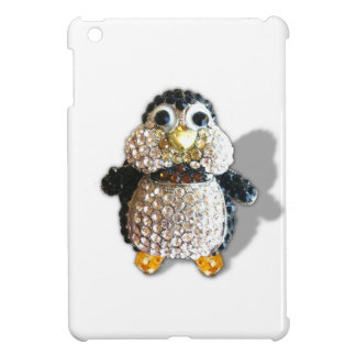 Penguin Jewel Add Text  & Choose Colors You Want iPad Mini Covers