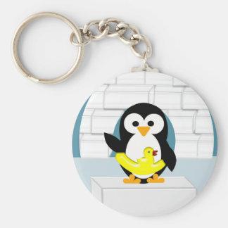Penguin Key Ring