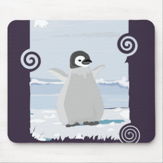 Penguin Kid Mouse Pad