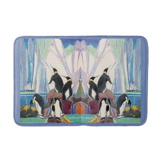 penguin land bath mat