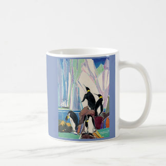 penguin land coffee mug