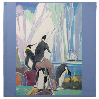 penguin land napkin