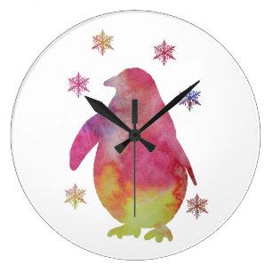 Penguin Large Clock