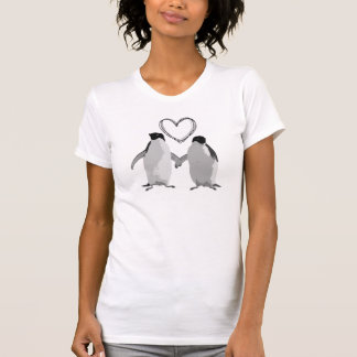 Penguin Love Heart T-Shirt
