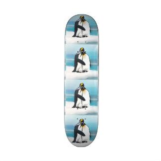 Penguin Love Kisses Skate Board Deck