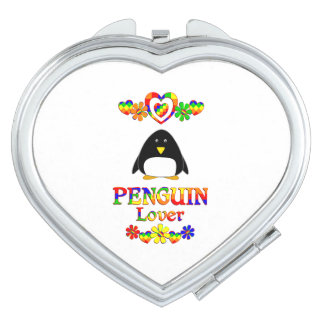 Penguin Lover Mirror For Makeup
