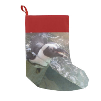 Penguin Small Christmas Stocking