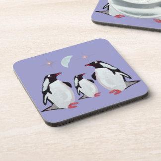 Penguin Moon Coaster Set