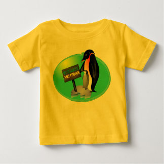 Penguin Mortgage Meltdown Baby T-Shirt