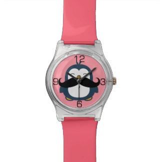 Penguin Mustache Trend Watches