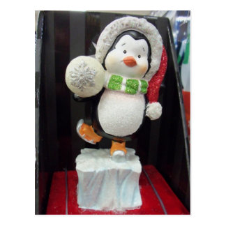Penguin Ornament Postcard
