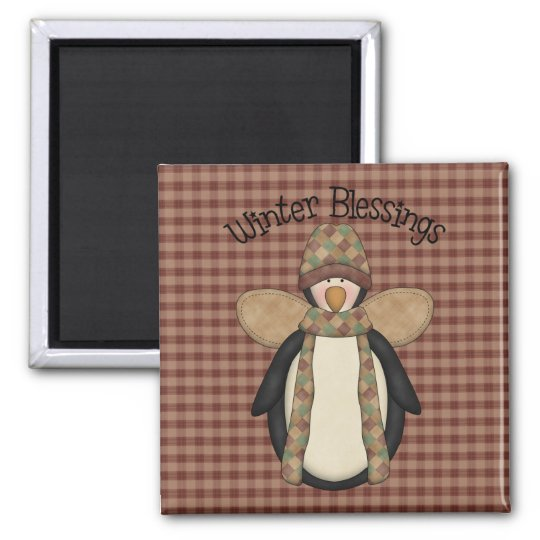 Penguin Pals Christmas Magnet