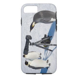 Penguin Paparazzi iPhone 7 tough iPhone 8/7 Case
