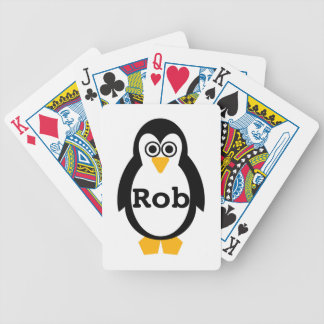 Penguin Party Customisable Bicycle Playing Cards