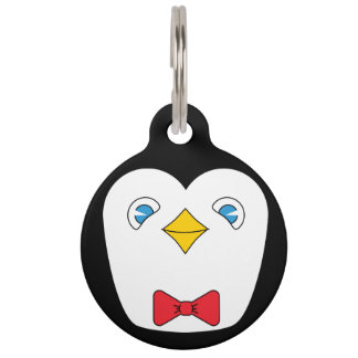Penguin pet ID tag