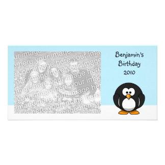 Penguin Customized Photo Card