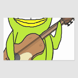 Penguin Playing the Guitar Sticker