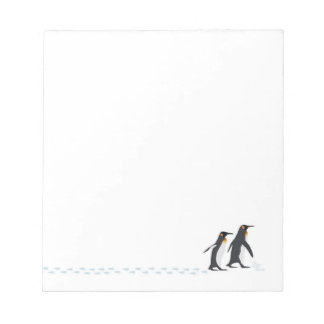 Penguin Prints Notepad