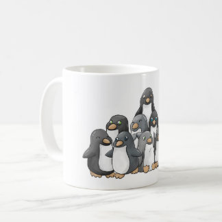Penguin Pyramid Coffee Mug