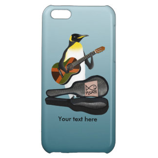 Penguin Reggae Guitar Case For iPhone 5C