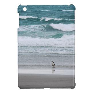 Penguin returning from the ocean iPad mini cases