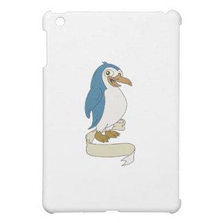 Penguin Ribbon Scroll Cartoon iPad Mini Covers