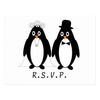 Penguin RSVP Postcard Insert
