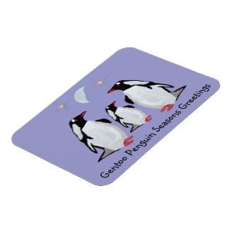 Penguin Season Greetings Premium Magnet