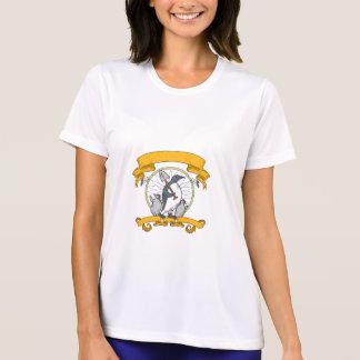 Penguin Shovel Chick Dreamcatcher Drawing T-Shirt