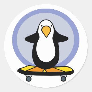 Penguin Skateboarding stickers