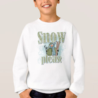 Penguin Ski Snow Please T-shirts and Gifts
