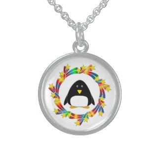 Penguin Stars Sterling Silver Necklace