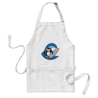Penguin surfer standard apron