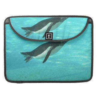 Penguin Swimming Underwater MacBook Pro Sleeve