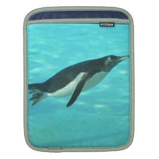 Penguin Swimming Underwater Sleeves For iPads