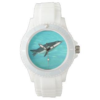 Penguin Swimming Underwater Watch