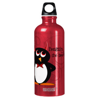 Penguin, the new black water bottle