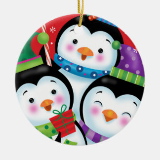 Penguin Trio Ornament