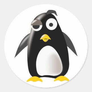 Penguin tux linux image stickers