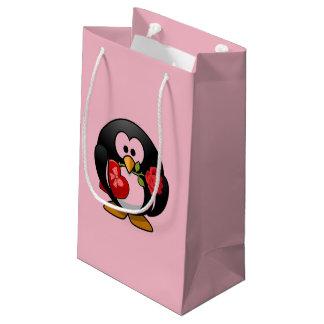 Penguin Valentine Small Gift Bag