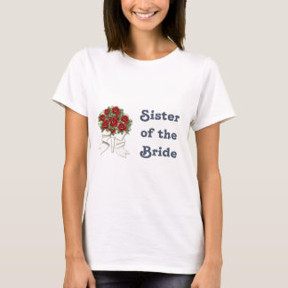 Penguin Wedding - Bride - Sister T-shirt