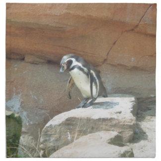 Penguin, Wildlife, Animal, Wild Bird, Zoo, Summer Printed Napkin